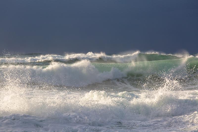 Waves at Saligo Bay Islay